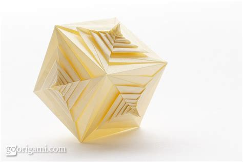 Tomoko Fuse Unit Origami Pdf - spiral faced cube by tomoko fuse modular origami go