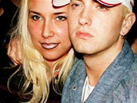 eminem and wife eminem family pictures wife daughters age height