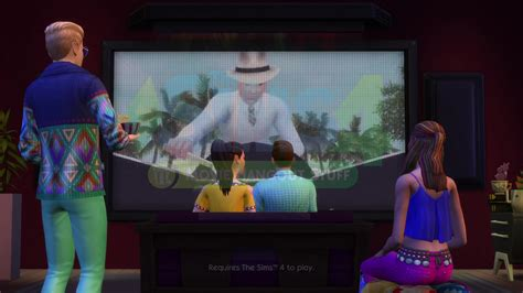 film hangout 2016 the sims 4 movie hangout stuff 61 screens from the trailer
