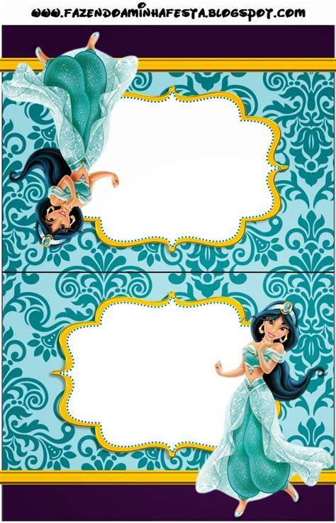 printable jasmine invitations 17 best images about princess disney jasmine printable