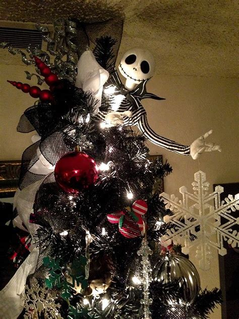 nightmare before xmas tree ideas 40 creepy nightmare before decorations celebrations