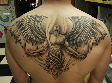 love tattoos for guys wing tattoos for