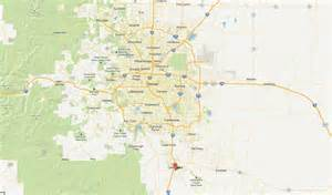 map of castle rock colorado area pictures to pin on