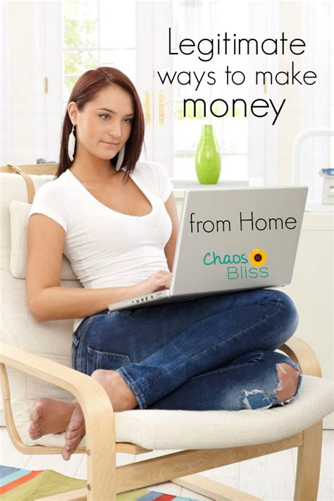 Legitimate Ways To Make Money Online From Home - legitimate ways to make money from home