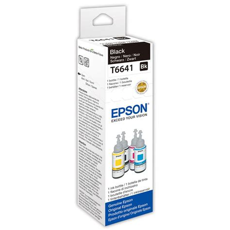 Toner Epson T6641 epson t6641 ink bottle black single pack c13t664140