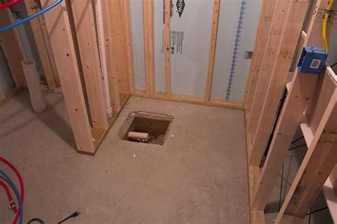plumbing basement bathroom rough in basement bathroom plumbing rough in home construction