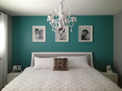 peinture bleu chambre deco chambre vert canard