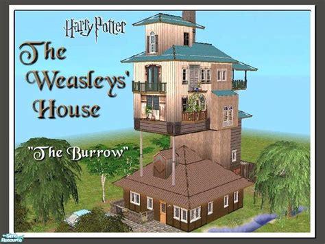 tiko s harry potter the weasleys house