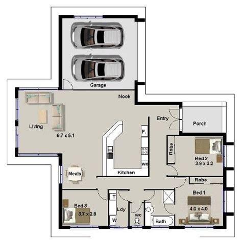 denah ruang makan sederhana variasi denah rumah sederhana 3 kamar tidur