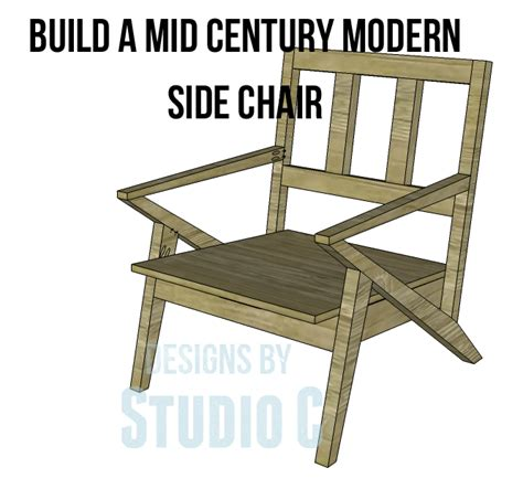 mid century chair plans mid century modern design chair plans
