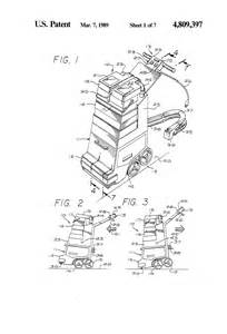 Wide Track Rug Doctor Patent Us4809397 Rug And Carpet Cleaner Google Patents