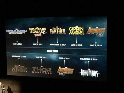 marvel reveals black panther captain marvel inhumans avengers nerd reactor marvel reveals black panther captain