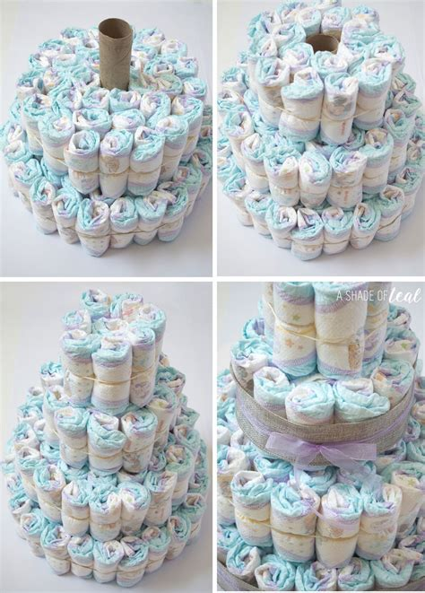 How To Make A Cake From Diapers For Baby Shower by Rustic Glam Baby Shower Plus Make A Cake A Shade