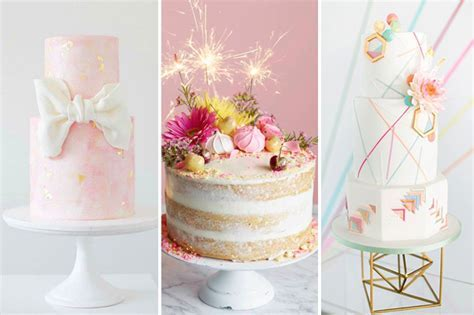 Confection Perfection   Top 10 Wedding Cake Trends for