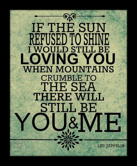 Wedding Song Led Zeppelin by Led Zeppelin Thank You Lyric Quote