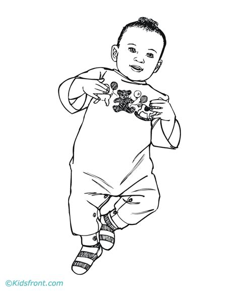 coloring page of baby boy baby boy coloring pages coloring home