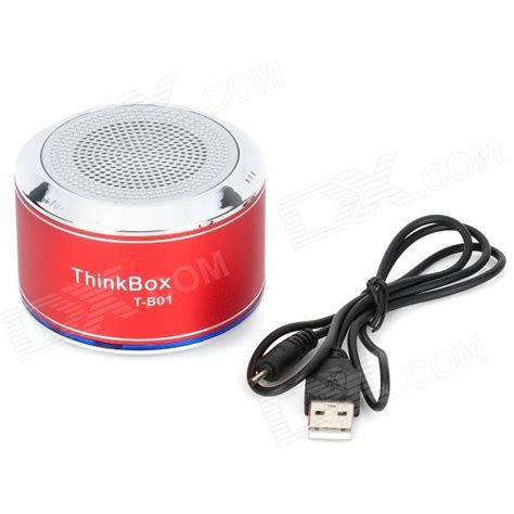 Speaker Bluetooth Thinkbox thinkbox t b01 portable bluetooth v2 1 edr wireless speaker w microphone silver