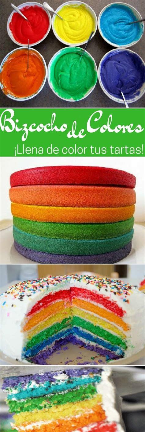 bizcocho para decorar c 243 mo hacer bizcochos de colores para decorar tartas