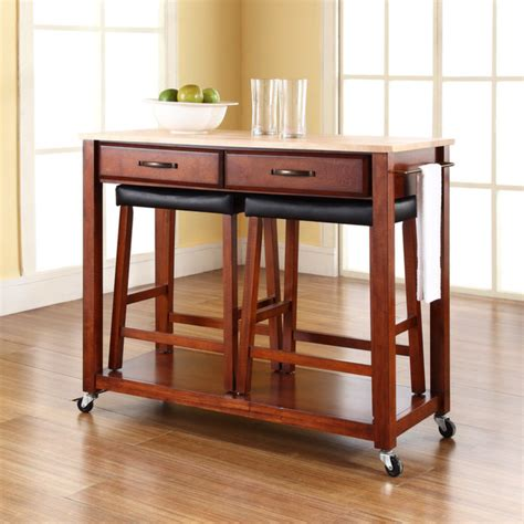 Kitchen Island Cart With Seating Kitchen Carts With Seating Contemporary Kitchen