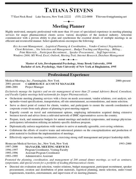 Resume Objective Key Account Manager 10 Account Manager Resume Sle Template Writing