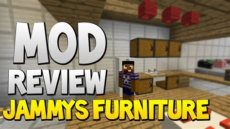 Furniture Mod 1 6 4 by Minecraft Mods Jammys Furniture Mod 1 6 4