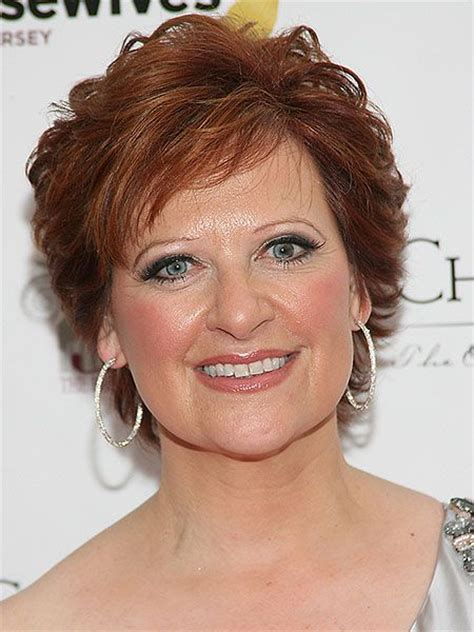 What Kind Of Haircut Does Caroline Manzo Have | haircut with texture caroline manzo do this