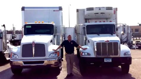 kenworth vs peterbilt kenworth t370 comparison vs peterbilt 337