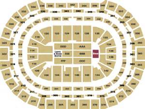 pepsi center floor plan concert seating end stage pepsi center