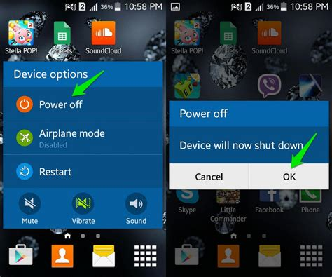 android safe mode turn how to turn on safe mode on android ubergizmo