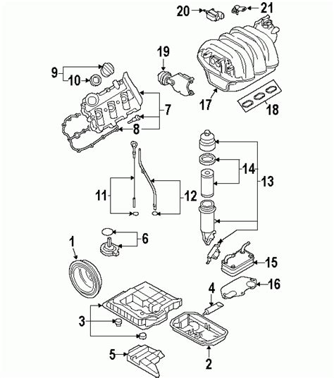 audi a4 parts diagram parts 174 audi pan a6 lower from 4f 6 190001 3 2l