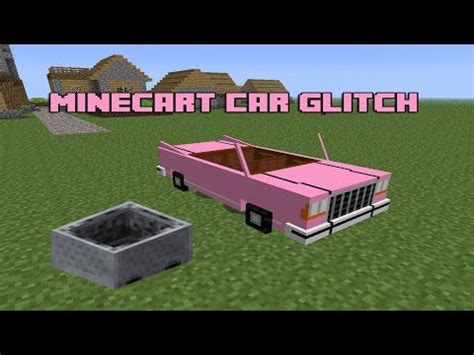 minecraft car that moves how to make a moving car in minecraft tutorial no mods