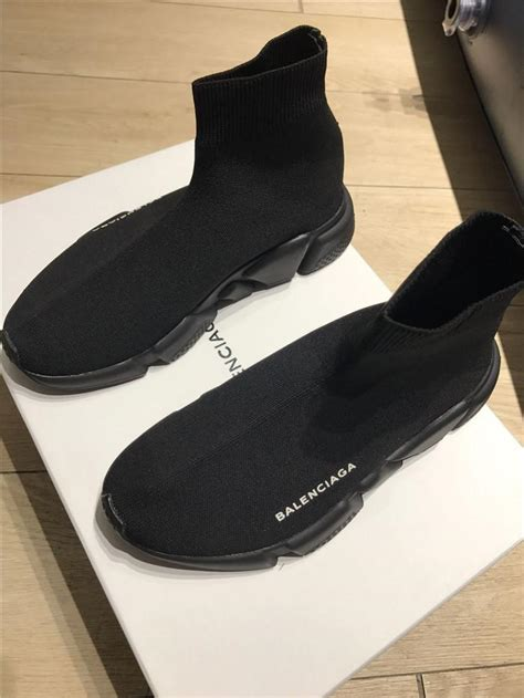 All Black Balenciaga new replica balenciaga all black speed trainer benzinoosales