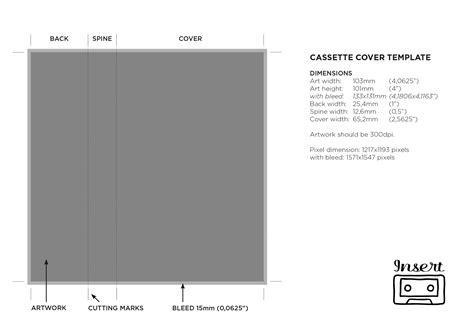 cassette j card template microsoft word comfortable cassette cover template photos exle