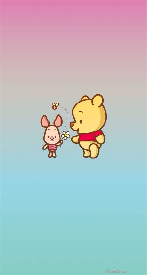 tumblr wallpaper winnie the pooh pastel homescreen colors iphone overlays pastels