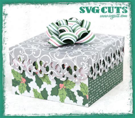 christmas gift bags and boxes svg kit svgcuts com blog