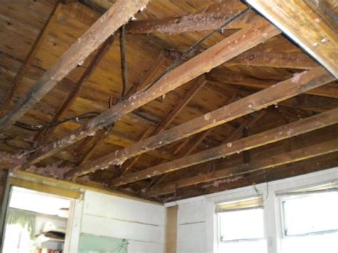 Rafter Ceiling by How To Remove Ceiling Joists And Add Collar Ties