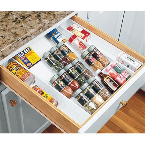 Drawer Spice Storage by Expand A Drawer Spice Organizer In Spice Drawer Organizers