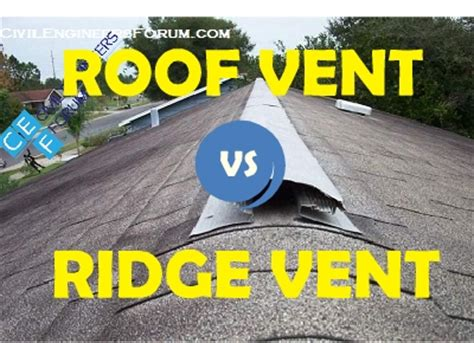 ridge vent vs attic difference between roof vents and ridge vents