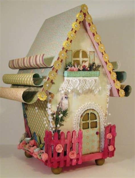 websters pages altered bird house  michellebowley