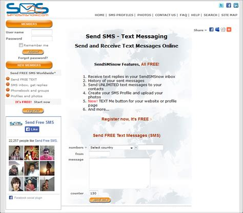 free sms in mobile free text messaging receive and send