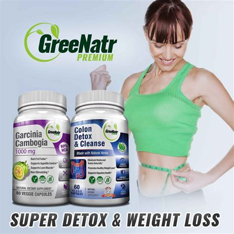 Detox Cleanse For Weight Loss by Detox Weight Loss Bundle Greenatr Premium