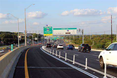 express road breaking southbound mopac toll opens saturday amid