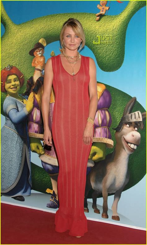 Carpet Fashion From Cameron Justin Co At The Shrek The Third Premiere by Justin Cameron Cozy On The Carpet Photo 437971