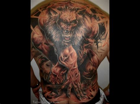 werewolf tattoo designs for men demons sleeves search tatoo