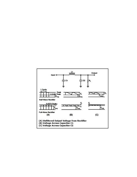 what is inductor input filter inductance capacitor capacitor input filter