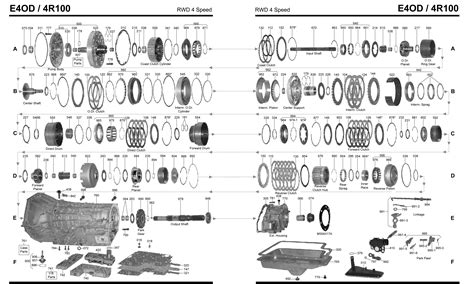 700r4 exploded view diagram wiring diagram schemes