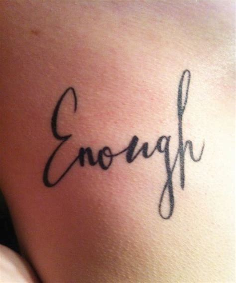 enough wrist tattoo 25 best ideas about enough on wrist