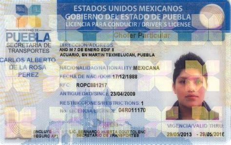 requisitos para renovar tu licencia en puebla licencia de conducir puebla requisitos confirma pri