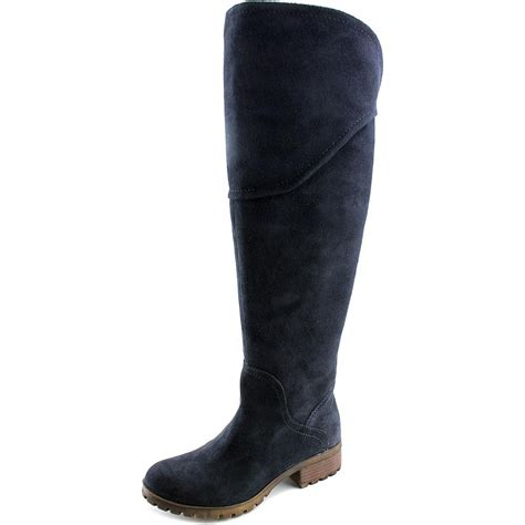 wide calf suede boots lucky brand harleen wide calf toe suede the