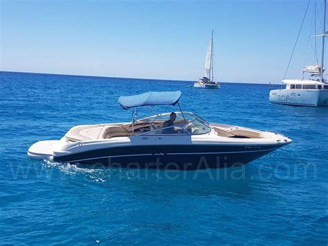 sea ray boat tops skippered speed boat sea ray 230 for 10 people yacht